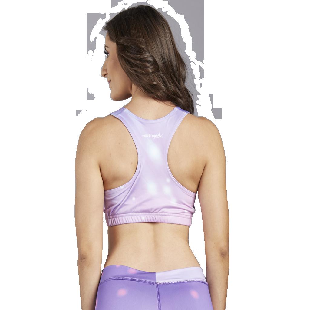 Custom Sports Bras >> Custom Sports Bra Pink Beauty