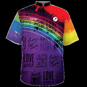 pride bowling shirt custom