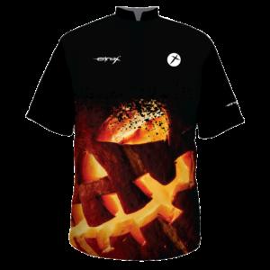 halloween bowling shirt creepy pumpkin customize